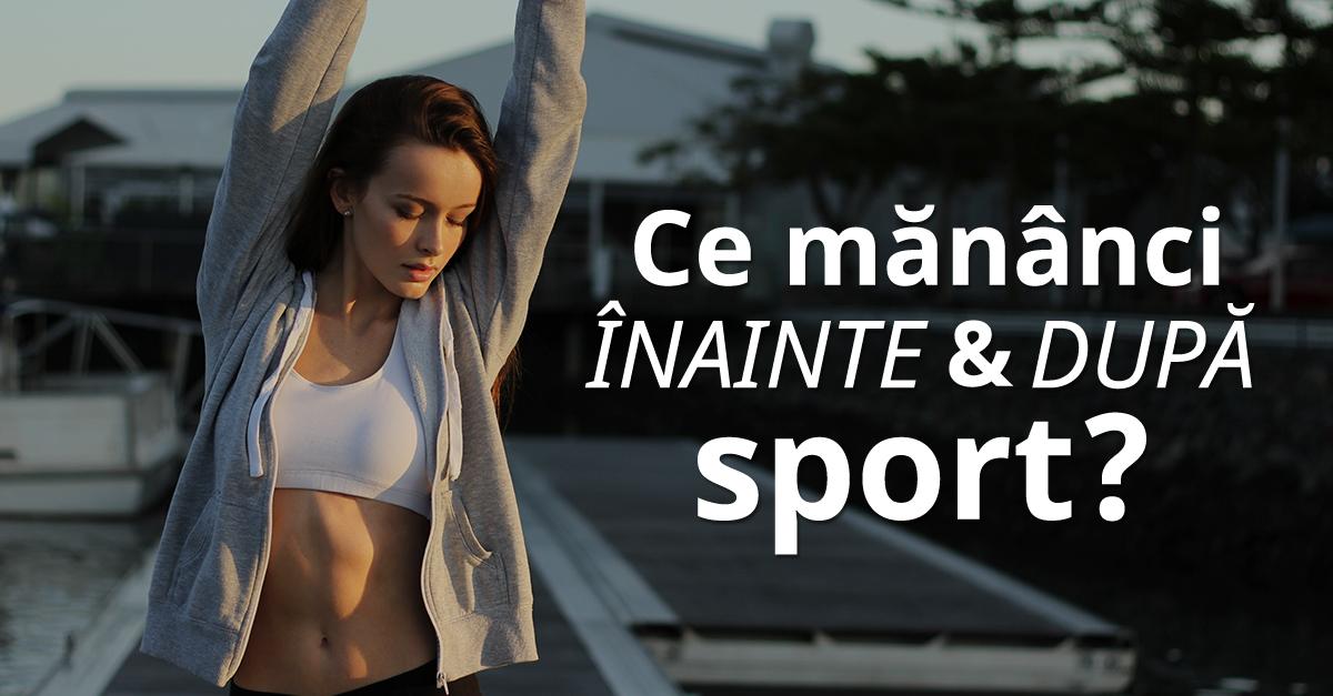 17 Ce Mananci Inainte Dupa Sport