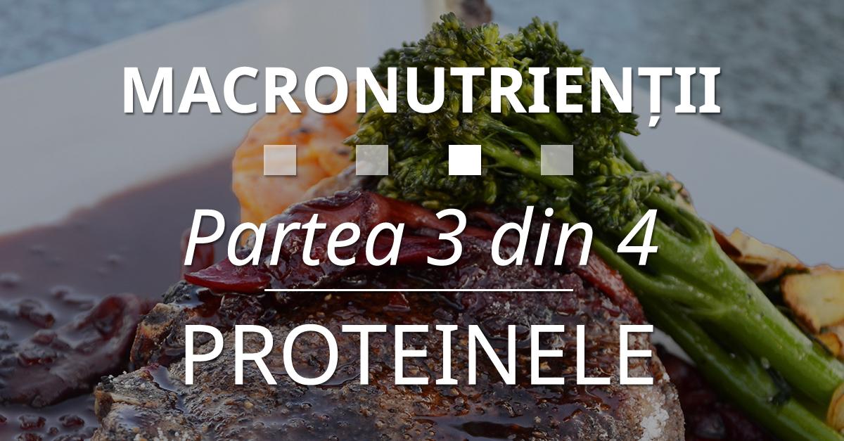 Macronutrienții – Partea 3 Din 4 – Proteinele