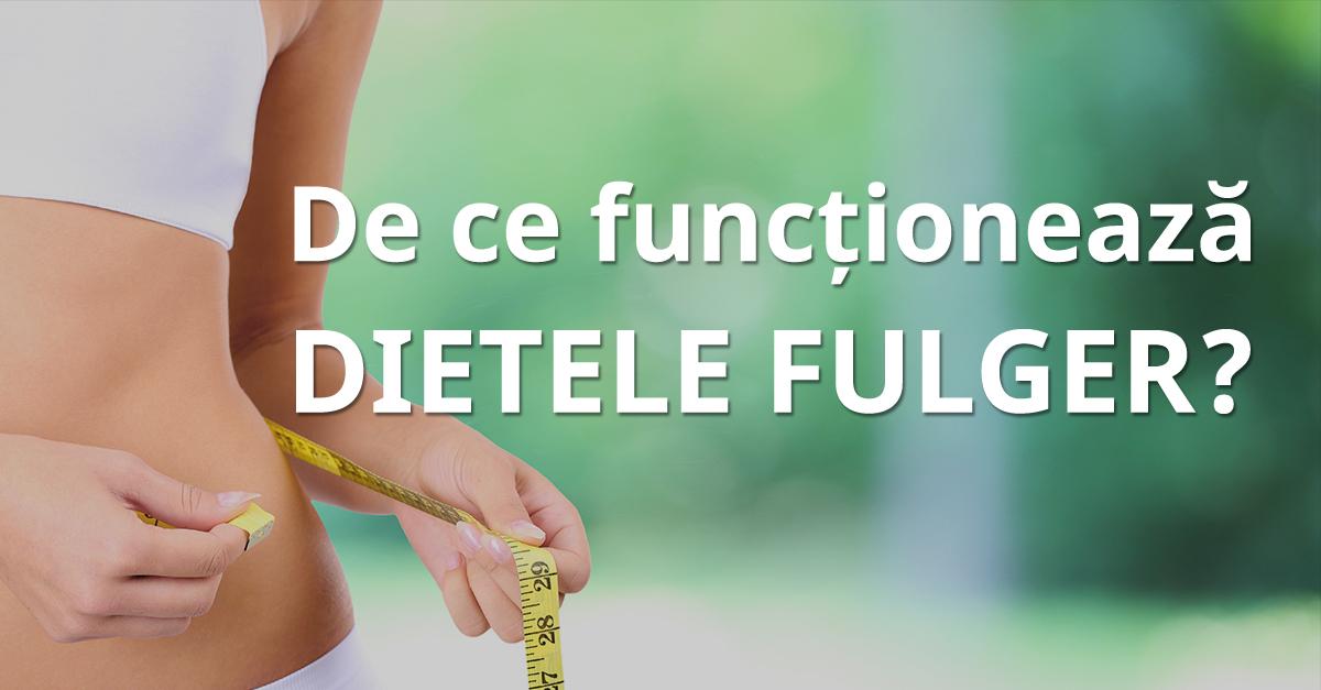 De Ce Funcționează Dietele Fulger?