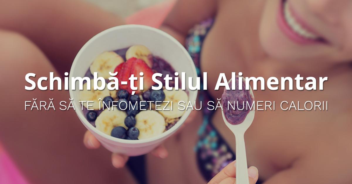 Schimbă-ți Stilul Alimentar Fără Să Te Înfometezi Sau Să Numeri Calorii