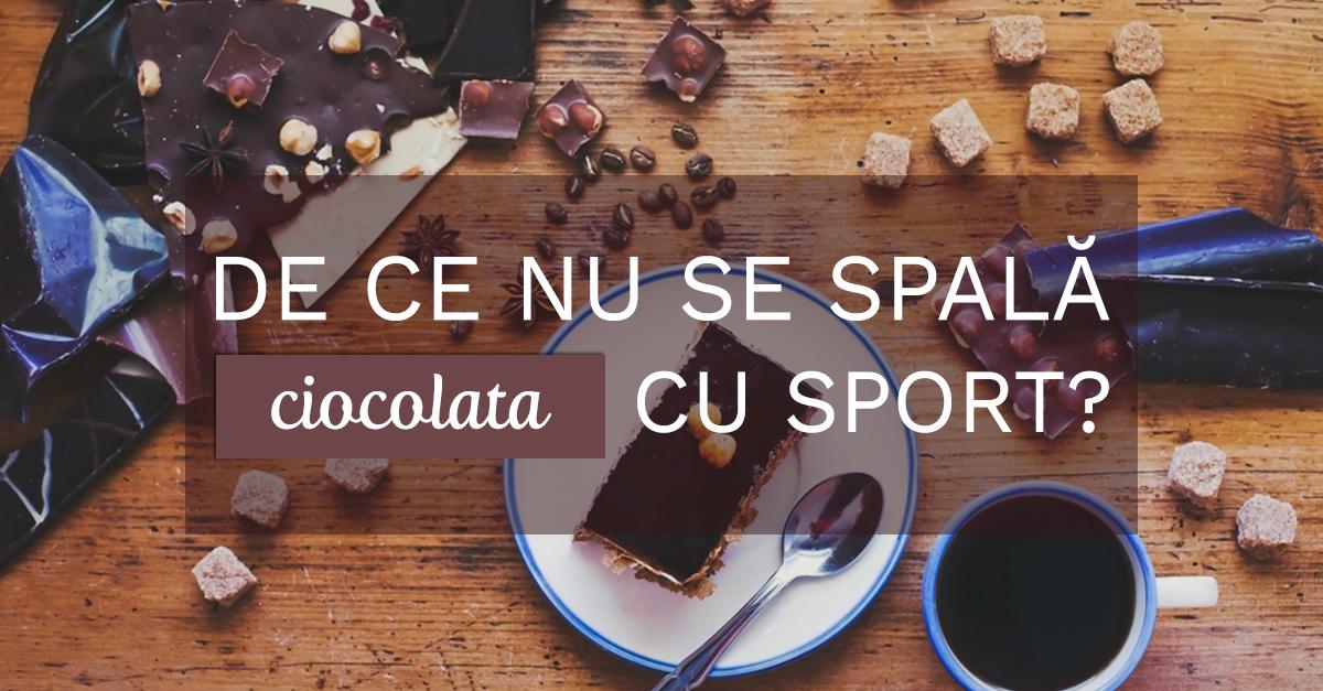 De Ce Nu Se Spală Ciocolata Cu Sport?