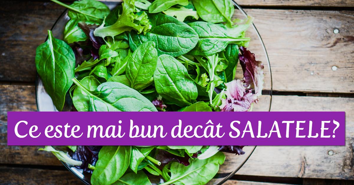 Ce Este Mai Bun Decât Salatele, în Slăbit?